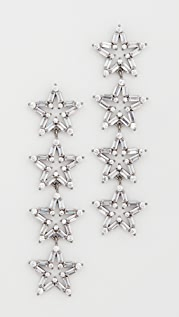 Theia Jewelry Astra 4 Tier Drop Earrings