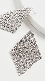 Theia Jewelry Diamond Shape Chandelier Earrings