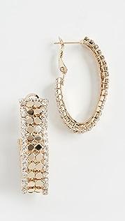 Theia Jewelry Nora 圈式耳环