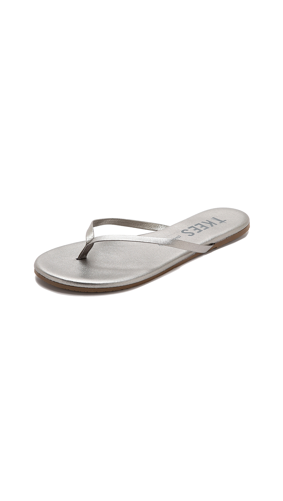 TKEES Shadow Flip Flops - Frosty Grey