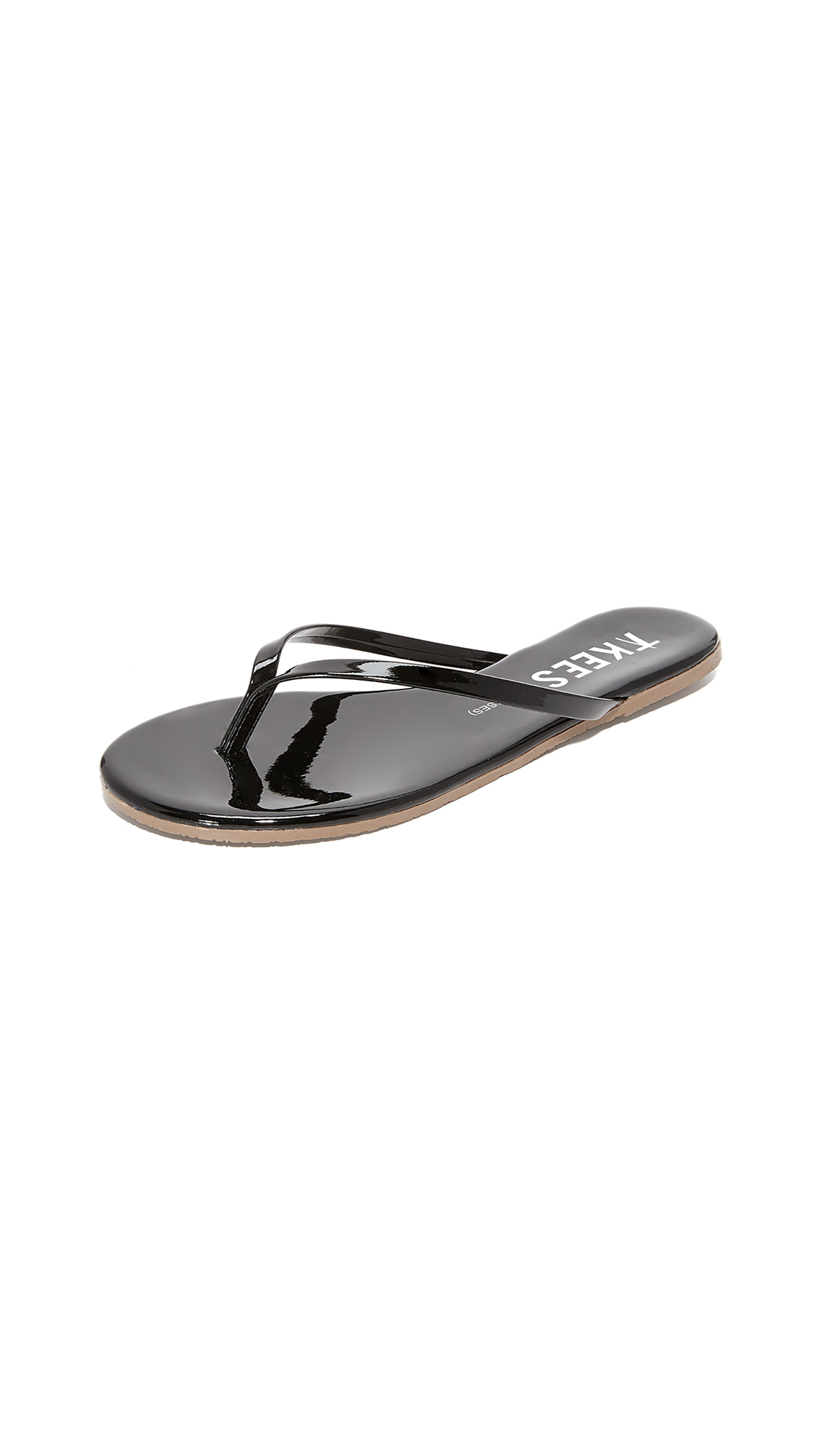 TKEES Glosses Flip Flops - Licorice