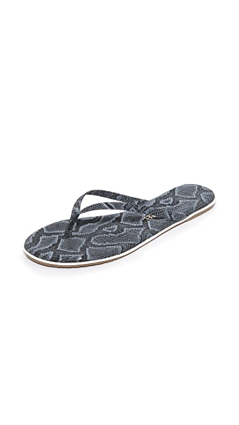 TKEES Studio Exotic Flip Flops - Moon Snake