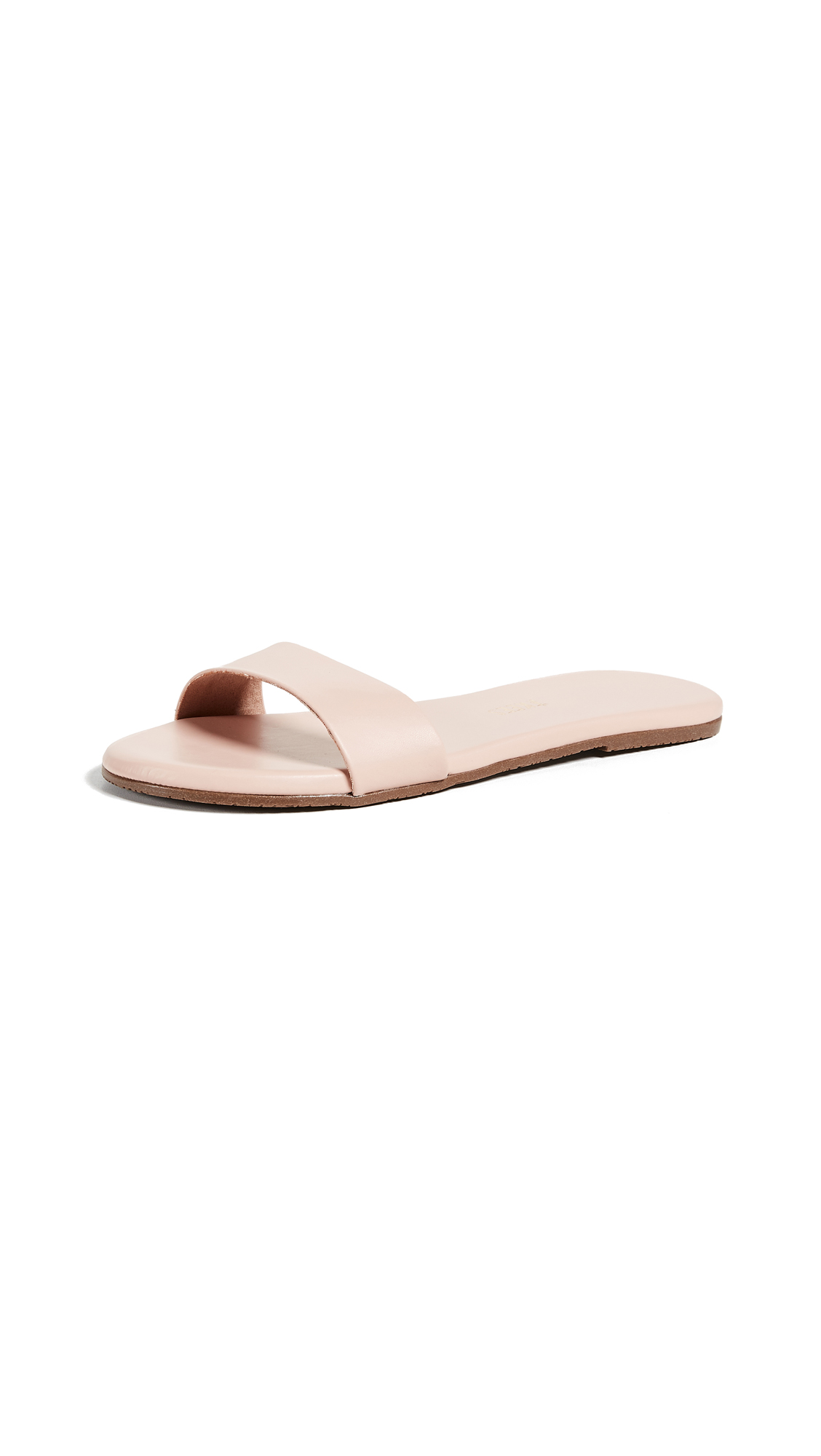 TKEES Alex Slides - Rose Quartz