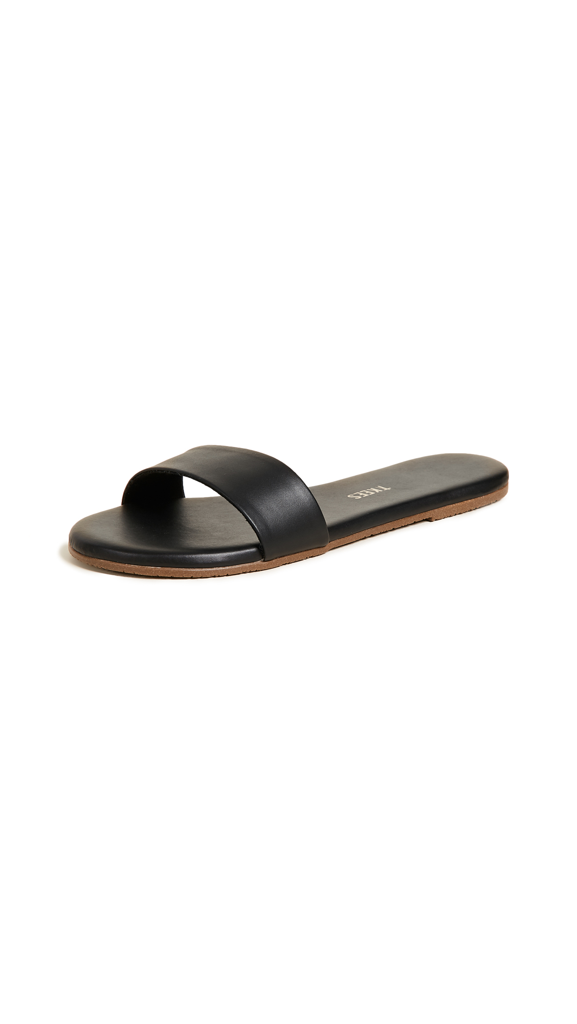 TKEES Alex Slides - Black Stone