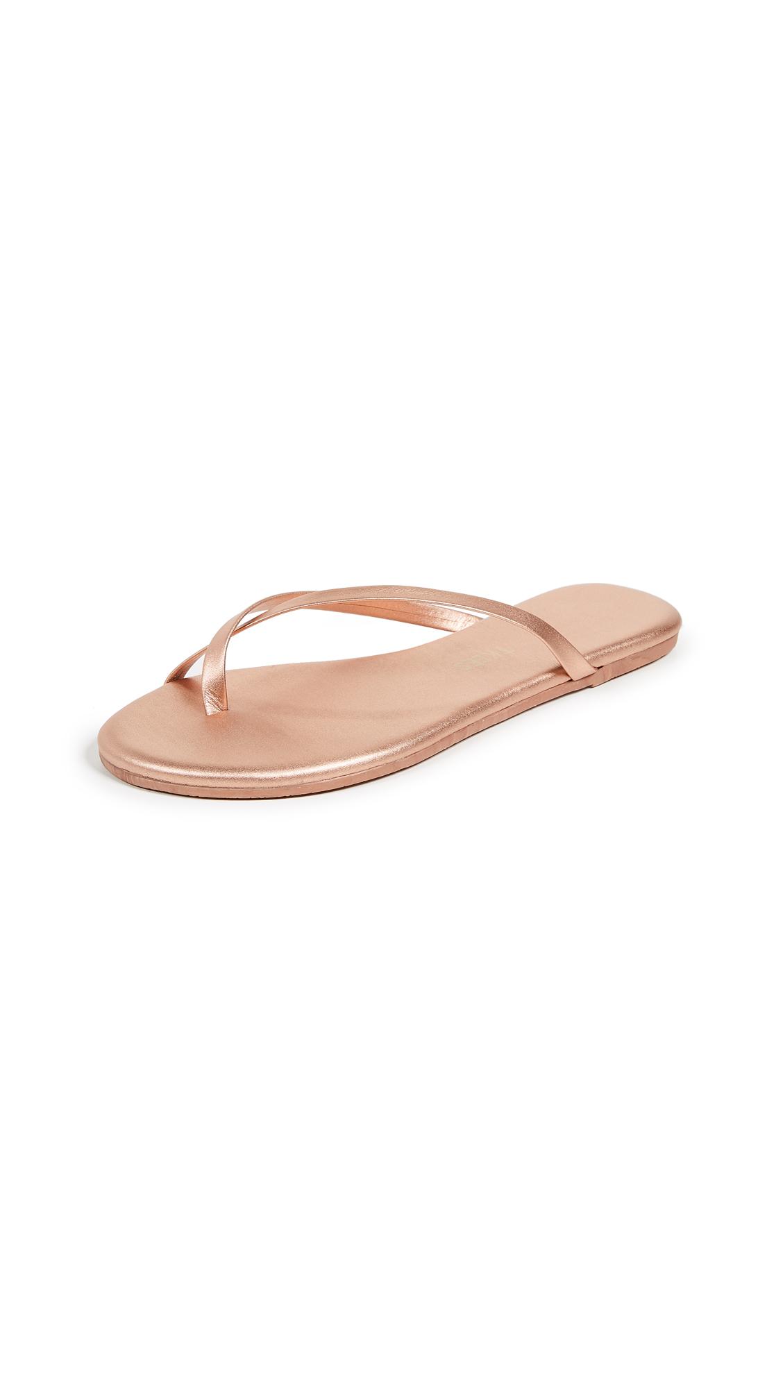 TKEES Riley Flip Flops - Beach Pearl
