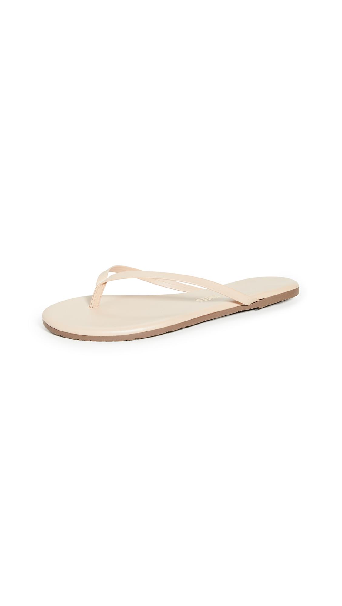 TKEES Foundations Shimmer Flip Flops