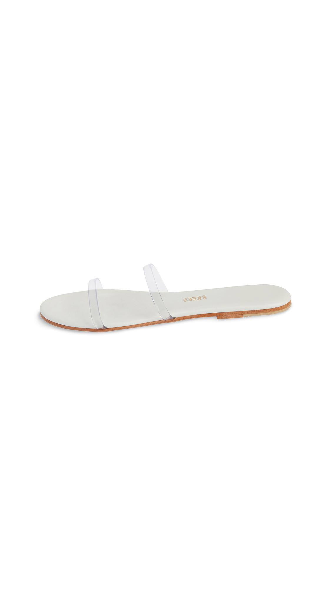 Buy TKEES Clear Slides online, shop TKEES