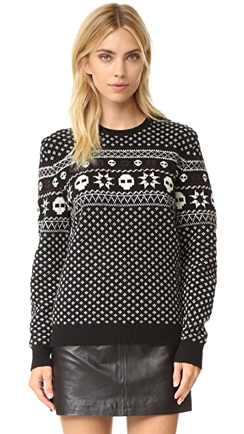 The Kooples Your Boyfriends Fair Isle Pullover