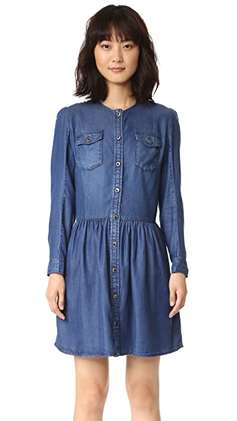 The Kooples Chambray Dress - Blue