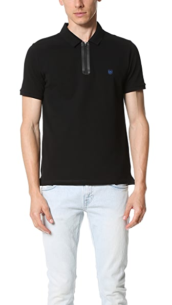 The Kooples Sport Zip Polo