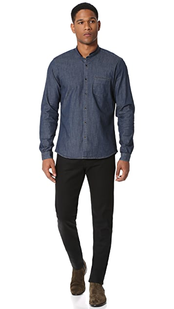 The Kooples Sport Officer Collar Shirt