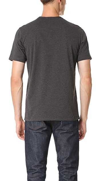 The Kooples Contrast Pocket Tee