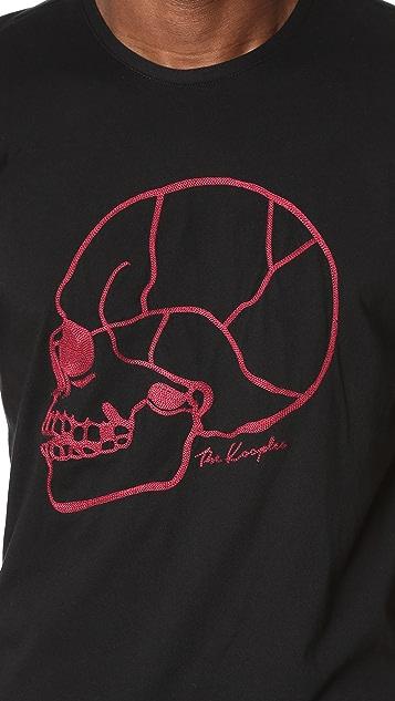 The Kooples Skull Print Tee