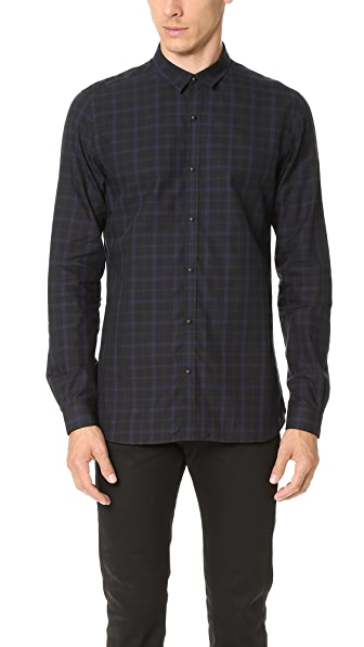 The Kooples Dark Room Check Shirt