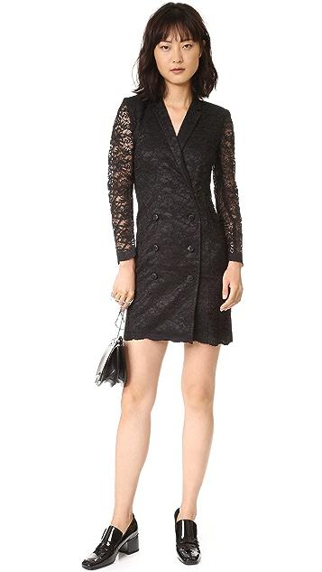 The Kooples Lace Wrap Jacket Dress