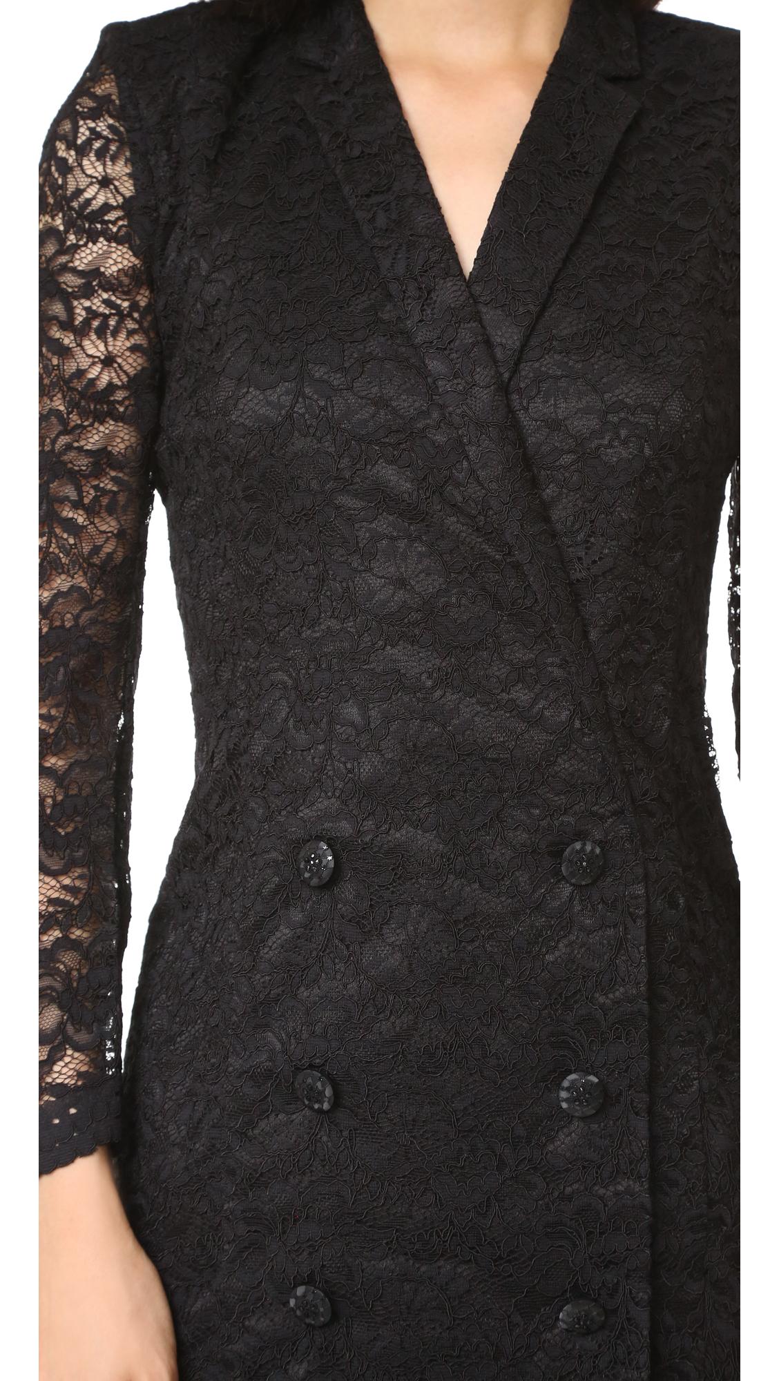 044f22f38b The Kooples Lace Wrap Jacket Dress | SHOPBOP