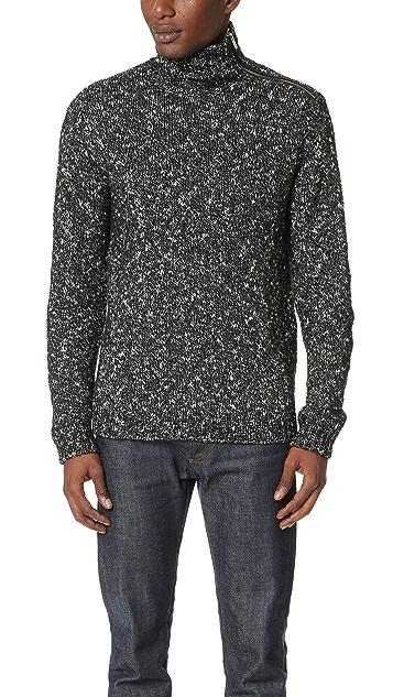 The Kooples Turtleneck Marled Sweater
