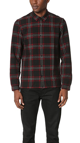 The Kooples Gauze Plaid Shirt