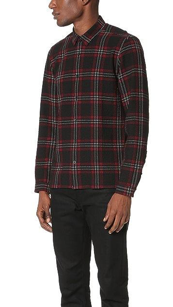 The Kooples Gauze Plaid Shirt