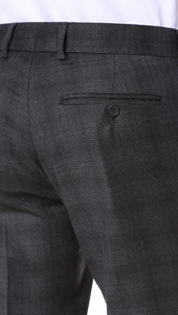 The Kooples Check Suit Trousers