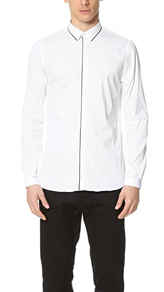 The Kooples Paper Poplin Shirt