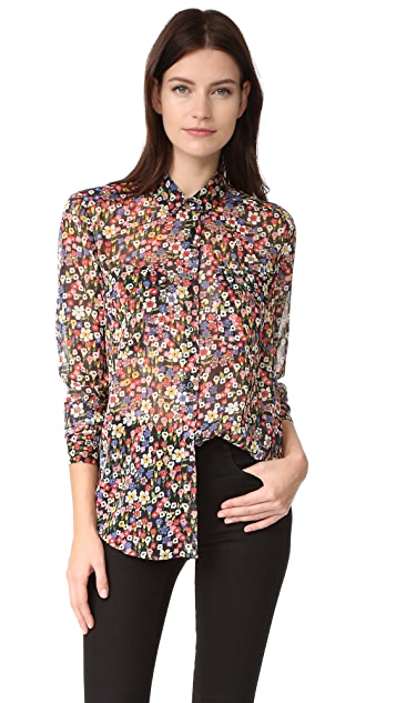 The Kooples Floral Blouse