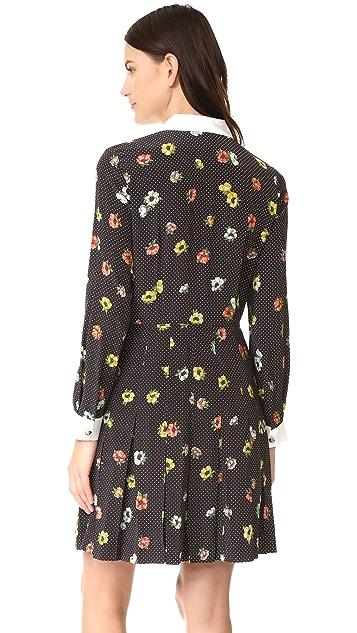 The Kooples Camelia Dots Dress