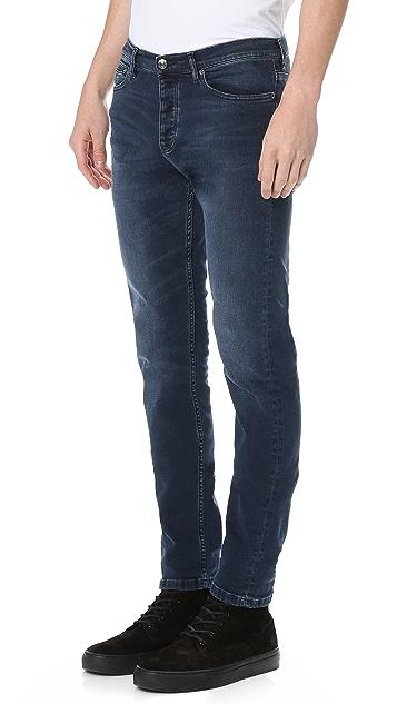 The Kooples Slim Fit Denim Jeans