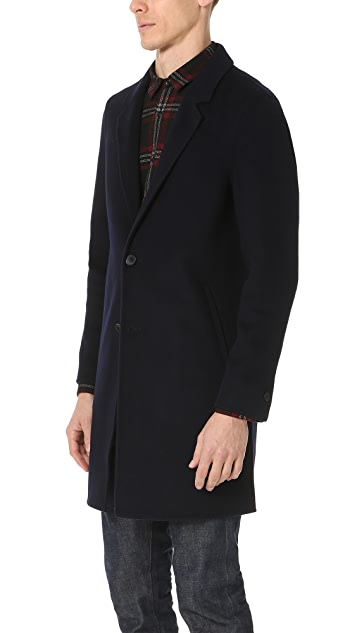 The Kooples Double Faced Topcoat