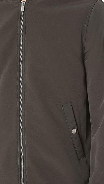 The Kooples Classic Nylon Bomber Jacket