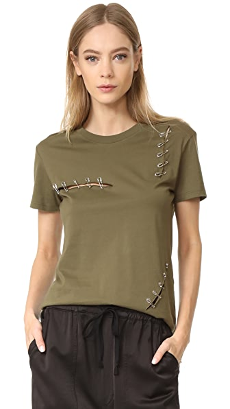 The Kooples Tee with Pins