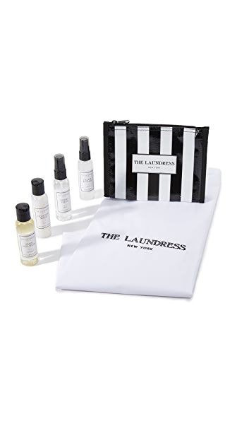 The Laundress Travel Pack - Black/White
