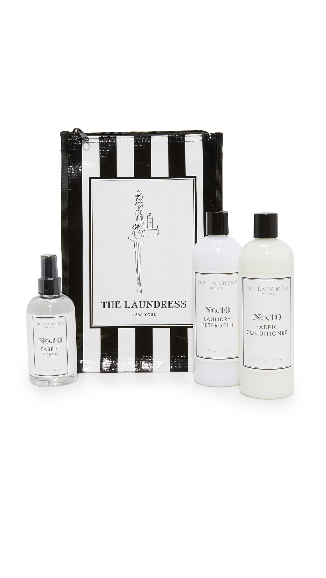 The Laundress No 10 Bundle - Black/White
