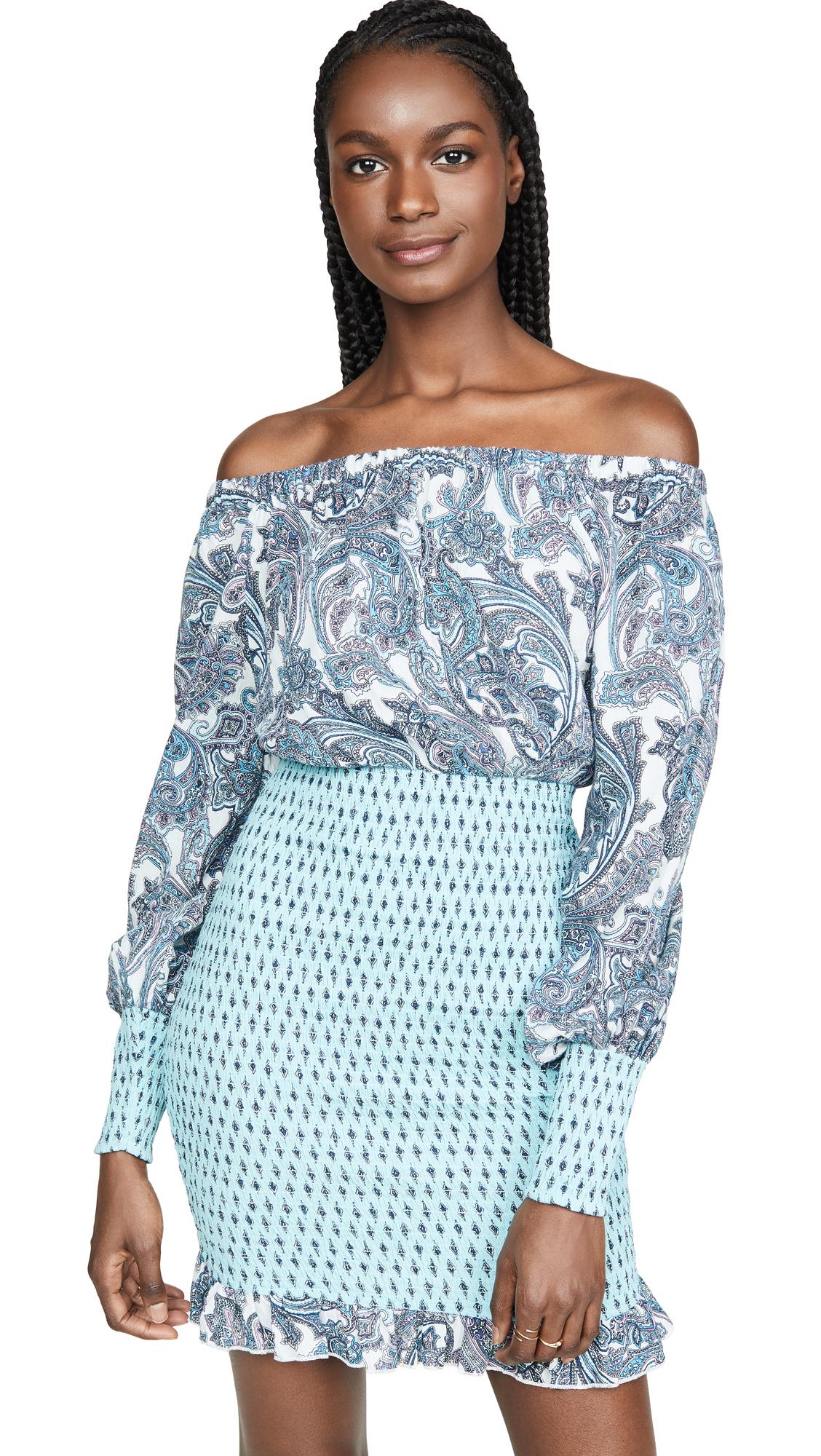Buy Tigerlily online - photo of Tigerlily Patha Shirred Dress