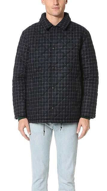 Traditional Weatherwear by Mackintosh Wembley Windowpane Tweed Jacket