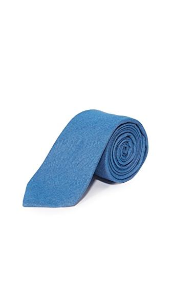 Thomas Mason 7cm Denim Tie