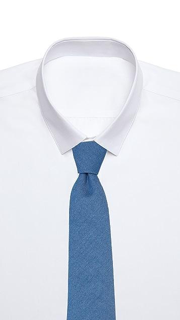 Thomas Mason 7cm Denim Tie