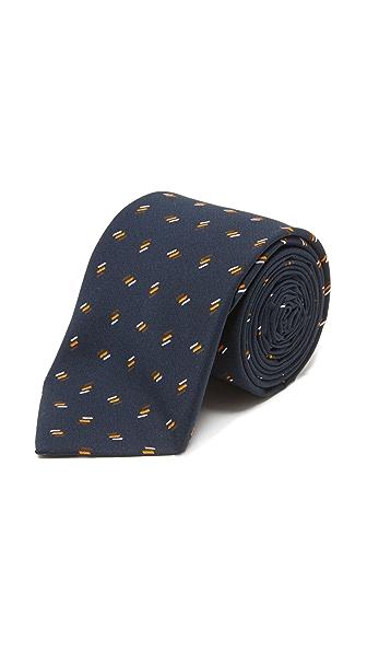 Thomas Mason 7cm Lines Tie