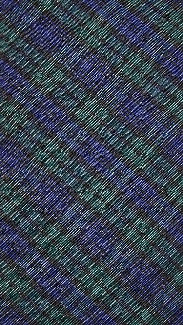 Thomas Mason Blackwatch Plaid Tie