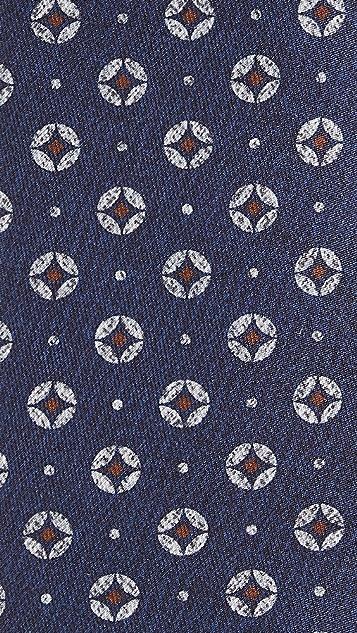 Thomas Mason Circles Tie