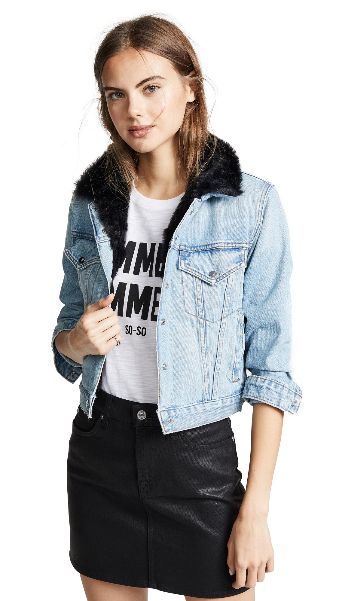 The Mighty Company York Denim Jacket - Medium Blue