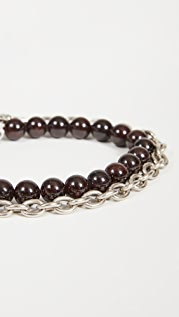 The Monotype The Duncan Double Wrap Chain Bracelet