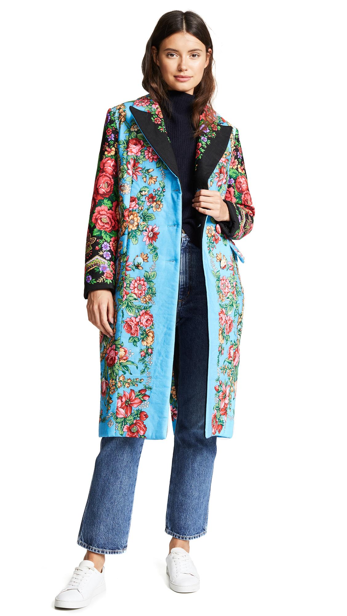 Tata Naka Classic Coat - Floral