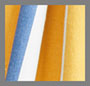 Yellow/Blue Stripe
