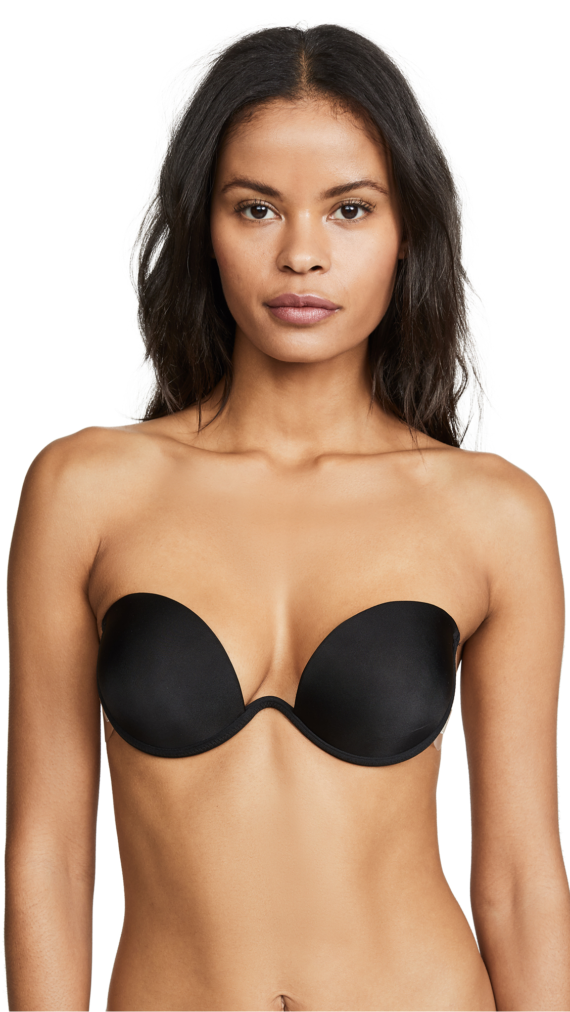 The Natural Combo Wing Push Up Bra - Black