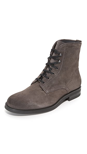 To Boot New York Flynn Suede Lace Up Boots