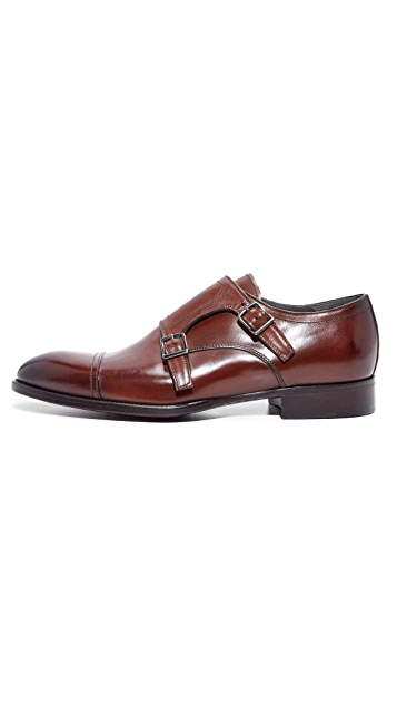 To Boot New York Lucas Double Monk Strap Shoes
