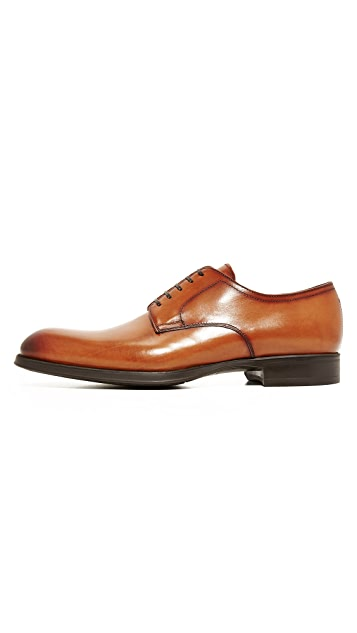 To Boot New York Calhern Burnished Toe Derbys