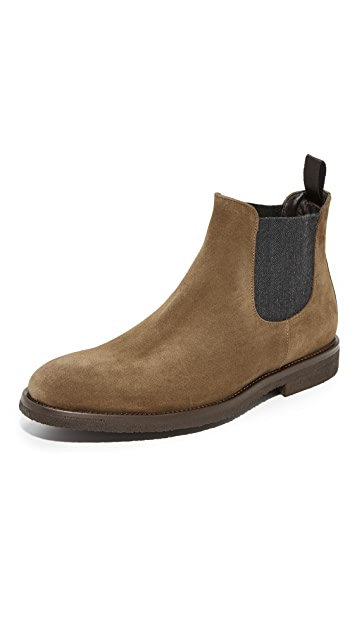 To Boot New York Charlton Suede Chelsea Boots