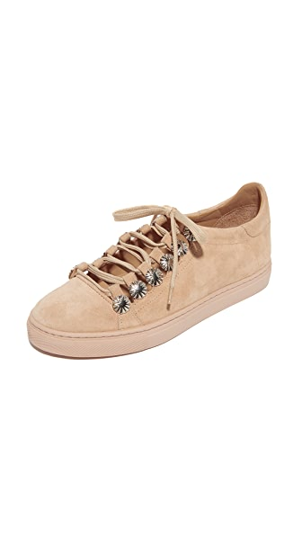 Toga Pulla Embellished Sneakers - Almond